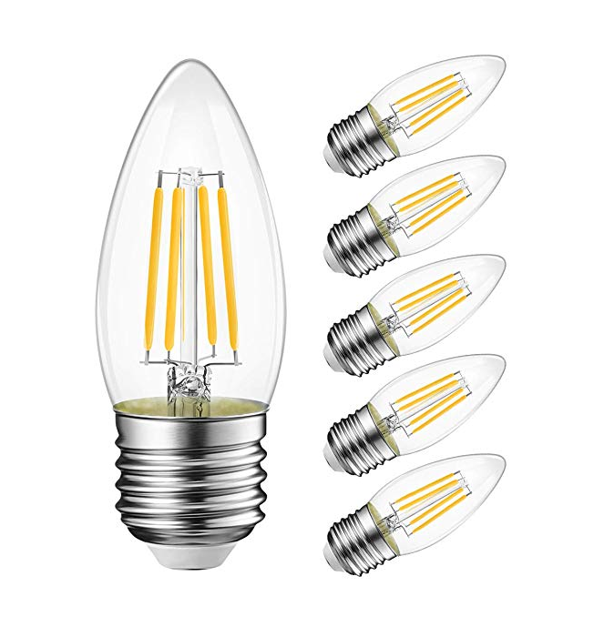 110V Led Filament Kaars <span class=keywords><strong>Lamp</strong></span> C35 E12 <span class=keywords><strong>E14</strong></span> base <span class=keywords><strong>4W</strong></span> 6W Dimbare Kaars <span class=keywords><strong>Lamp</strong></span>