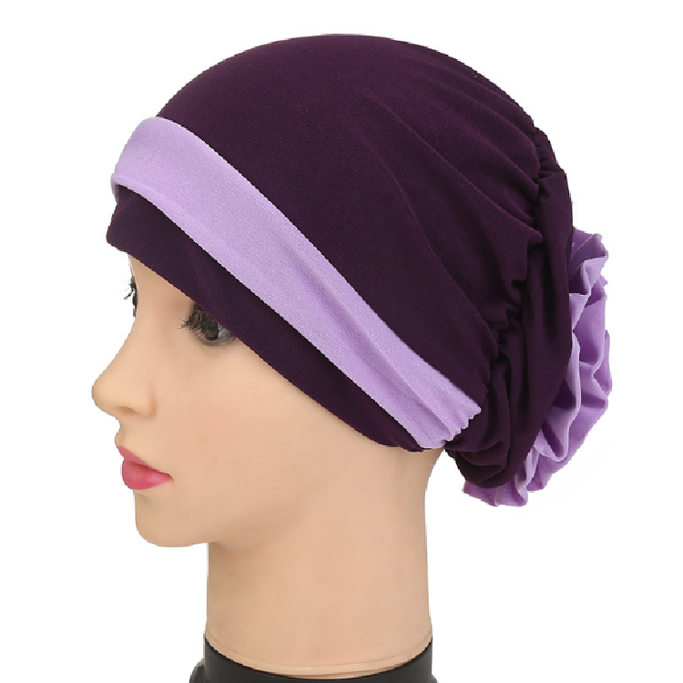 Cap African Style Headwear Cap Muslim Turban Hair Accessories Fashion Women