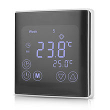 16A/3A Digital Touch Screen Heating Thermostat
