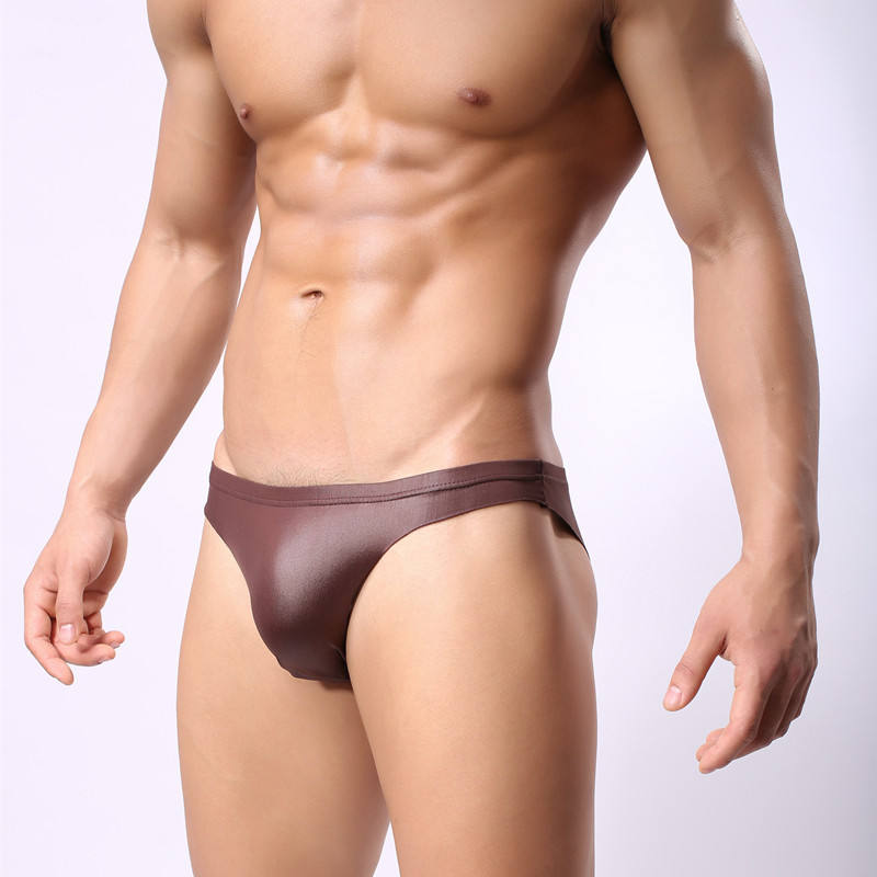 2020 Super Hot Briefs Sexy Shiny PVC Men Leather Underwear