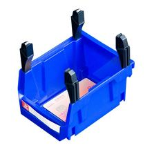 V1 Open storage bins plastic stackable box wholesale storage boxes