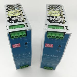 NDR-120-12 Original Meanwell Single Output Industrial DIN Rail AC/DC to DC Switching Power Supply 120W 12V 10A