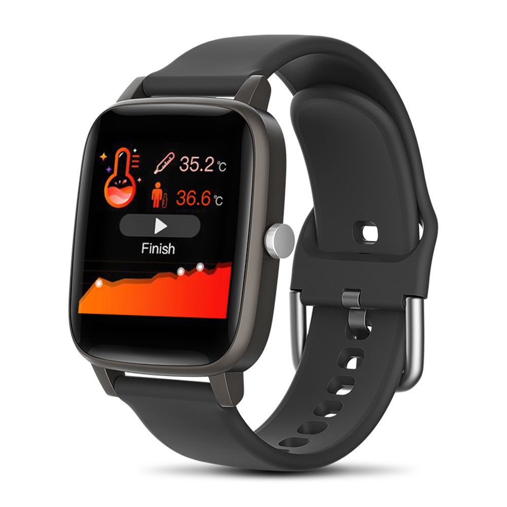 COLMI T98 Bracelet 1.4 Inch Touch Screen Bluetooth Body Temperature Android IOS Phone Smart Watch