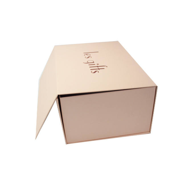 Wholesale Collapsible Box Folding Style Paper Box Easy Delivery Fashion Gift Box