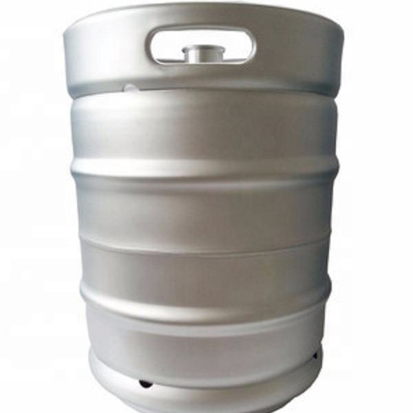 New American Standard Food Grade Stainless Steel 304 20L beer keg with keg spear