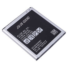3.7V 2600mAh Mobile Phone Lithium Ion Battery Replacement for Samsung Grand Prime  Battery j2 Prime J3 J5 G530