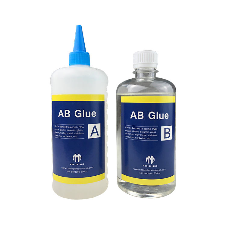 Epoxy Resin AB Glue Series Best Super for Metal Channel Letter AB Glue