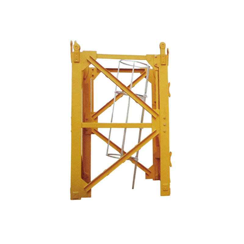 High Quality Tower Crane F023B Spare Parts Mast Section For Construction Site