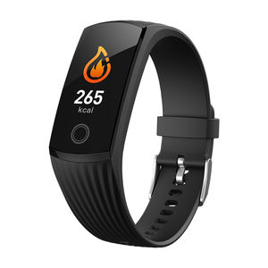 Smart Gelang Band Watch V16 Bluetooth LED Olahraga Silicone Digital IP68
