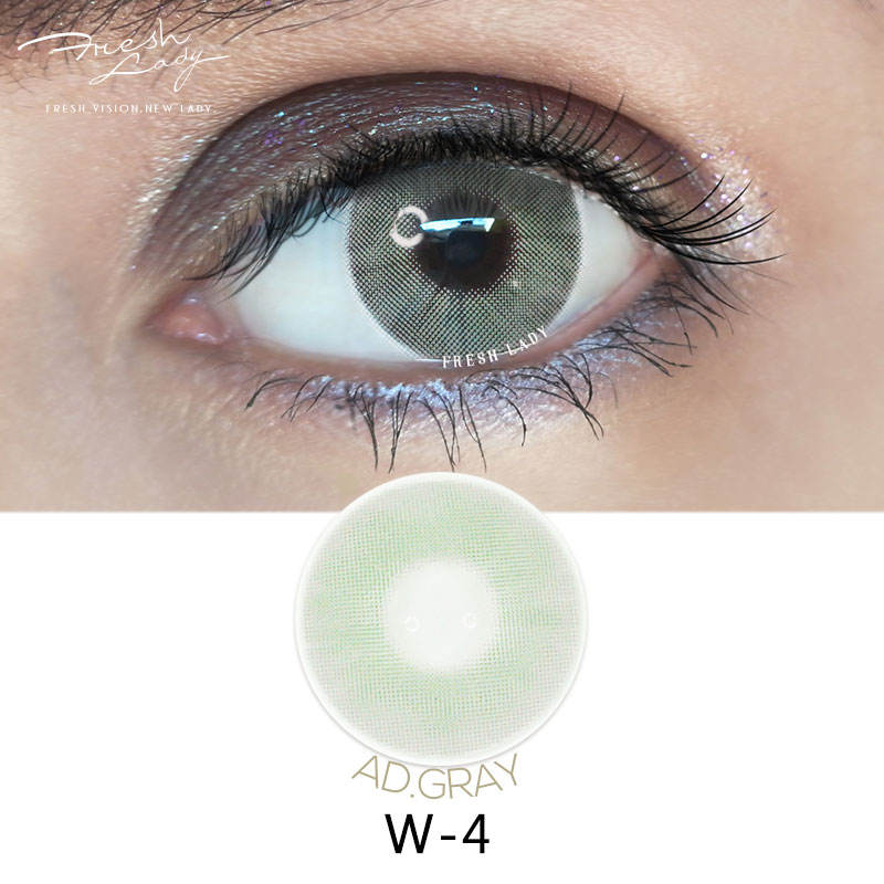 wholesale Freshlady plano private label TAN uv eye lenses color contact lens
