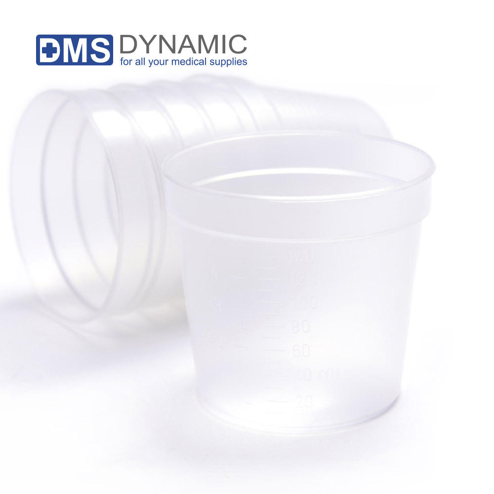 Disposable Plastic Medicine Cup Liquid and Dry medications Customized Size