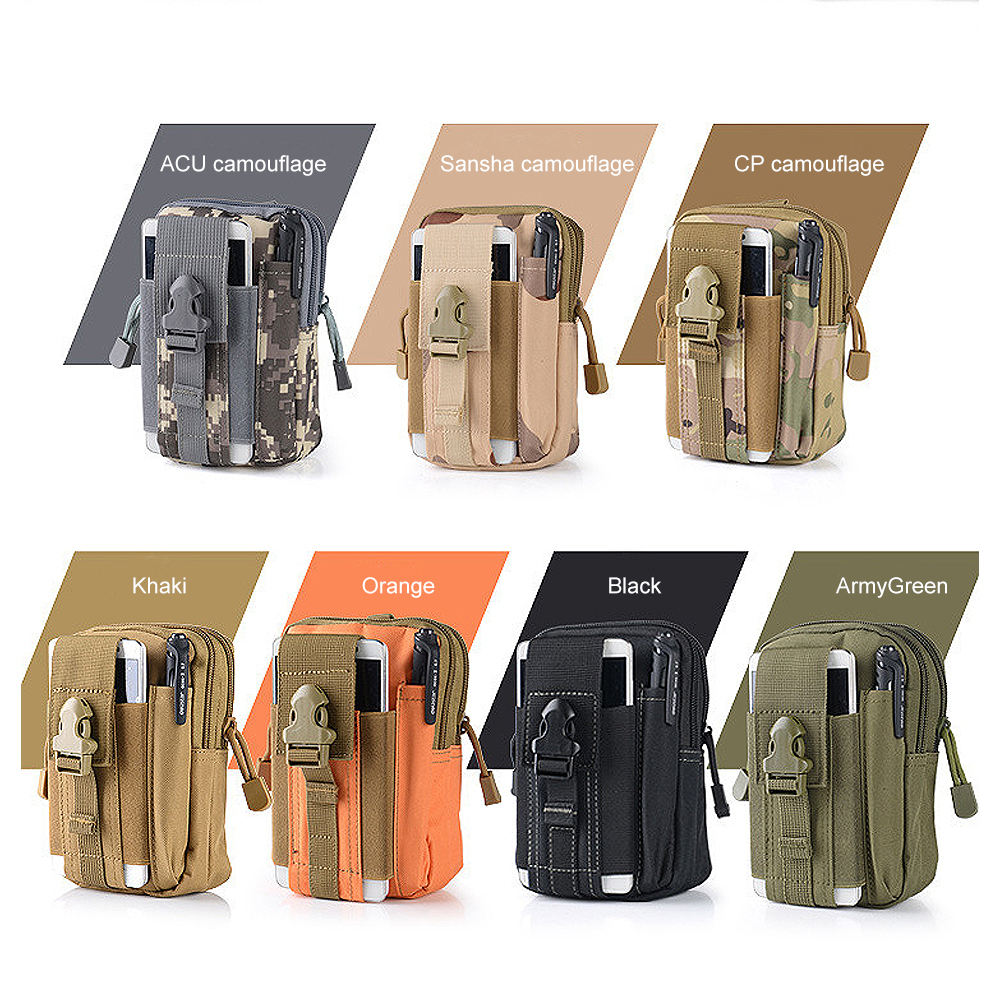 Most Popular New Outdoor Items For Camping Tactical Pocket, Military Enthusiasts Small Waterproof Pouch Bag