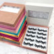 Sale Package JINBANG Brand Hot Sale Empty Lash Book 10 Pairs 25mm Empty Lashes Book Eyelash Package Box