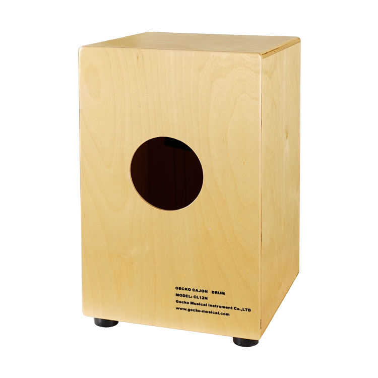 Gecko Factory Made Portable Wooden Percussion Handmade Cajon Drum