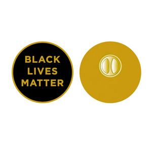Amazons Hot Sell Fight For Equality Enamel Lapel Pins Black Lives Matter Flag