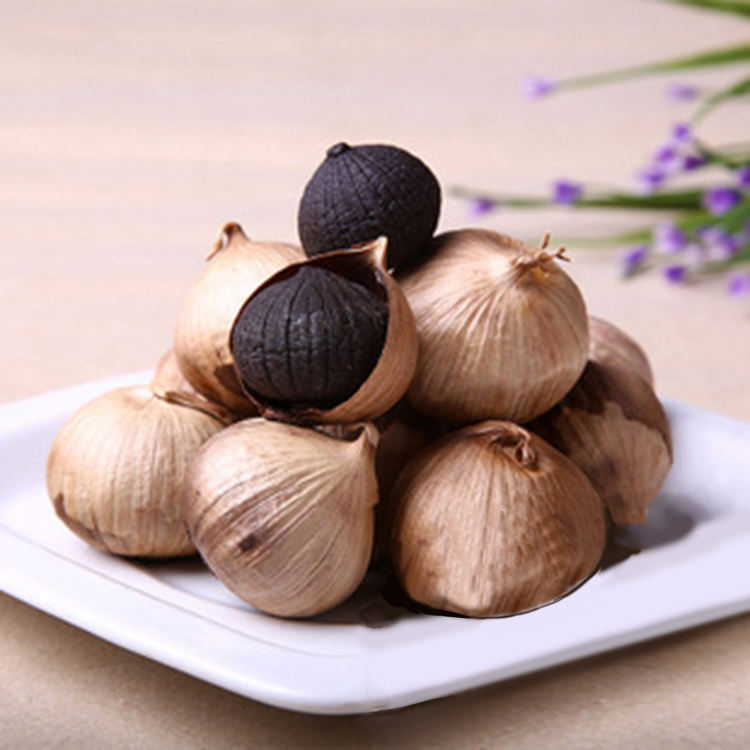Household Fermenter Whole Bulb Dried Organic Black Garlic