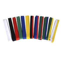 Wholesale Custom Martial Arts taekwondo belt custom taekwondo belt
