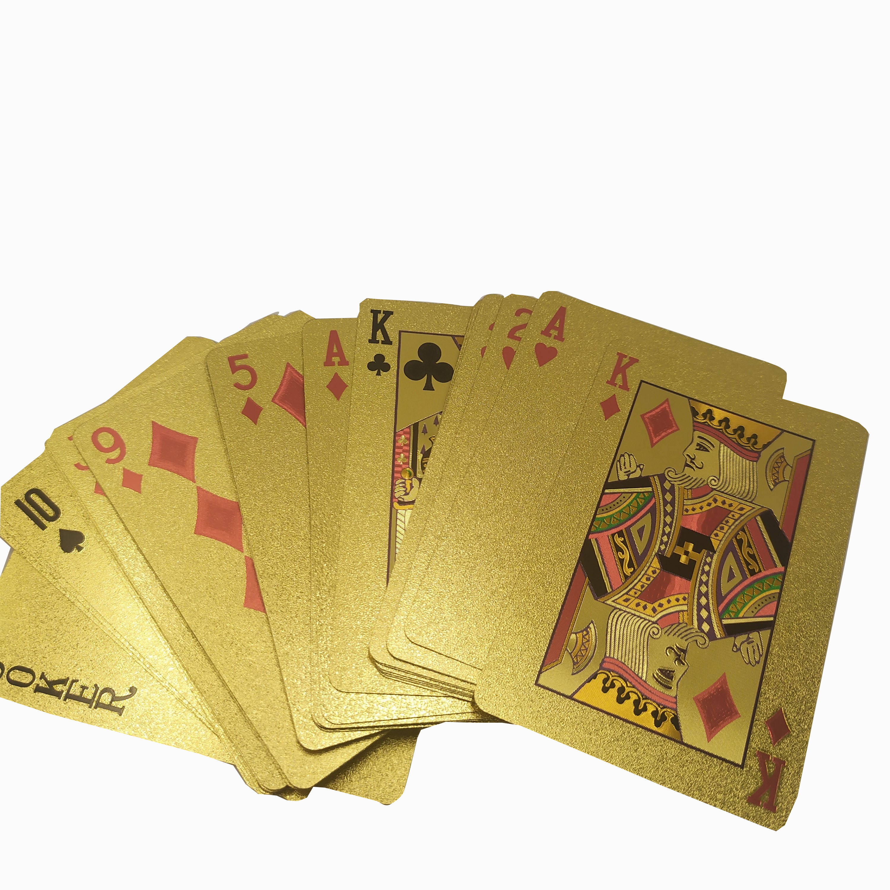 High Quality Wholesale Playing Cards Customized Printing Poker Design Manufacturer Waterproof Competitive Price OEM