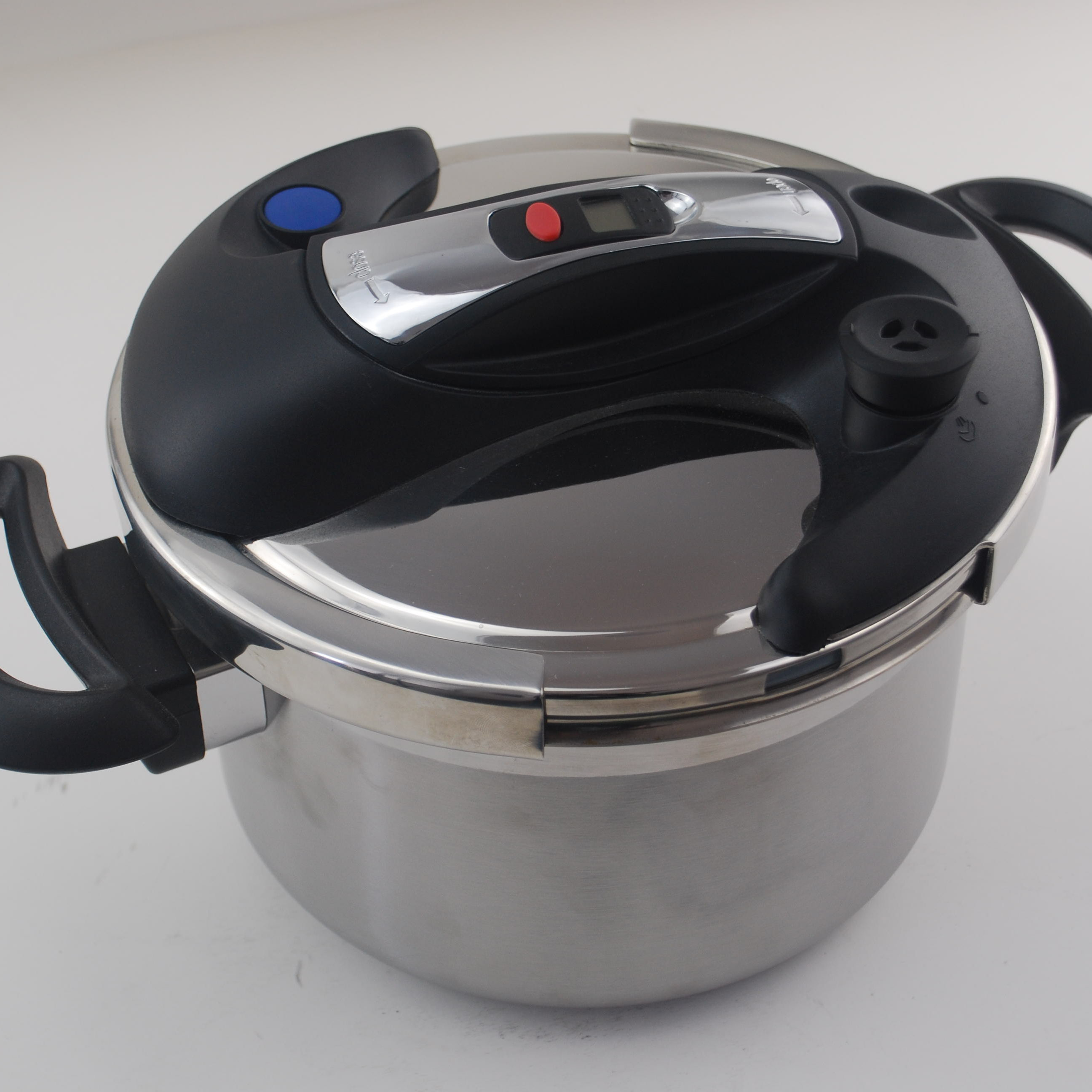 Hot sale high quality clamping pressure cooker multi cooker stainless steel cooker with electronic timer