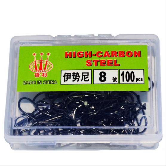 New coming 100pcs/box high quality stainless fishing hooks for saltwater