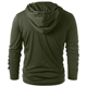 New Style Men's Fashion Long Sleeve Hooded Sweatshirts Solid Casual Hoodies For Men