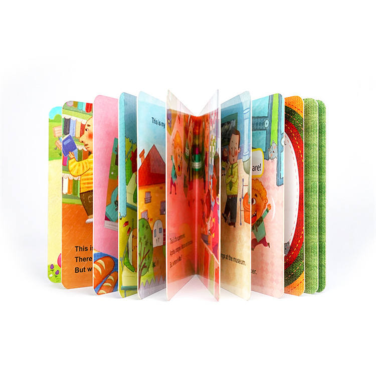 Good for Learning English Full Color Children Kids Hardcover Story Art Book Printing Services