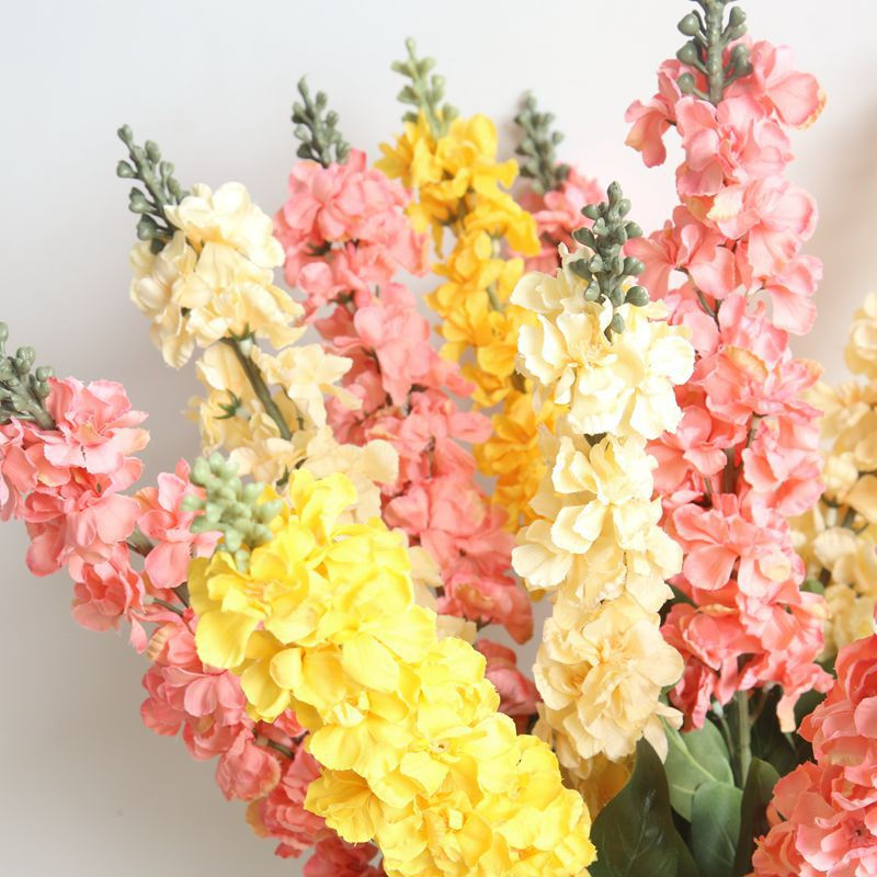 New Artificial Single Stems Delphinium Flower Artificial Hyacinth Flowers For Wedding