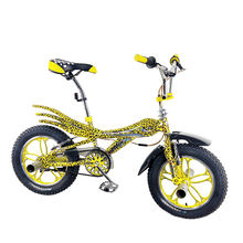 The latest leopard pattern folding freestyle professional bmx bikes