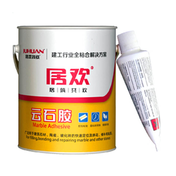 JUHUAN white marble glue construction stone adhesive 18L barrel drum adhesive