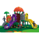 Popular children games plastic playground slide, soft playground equipment
