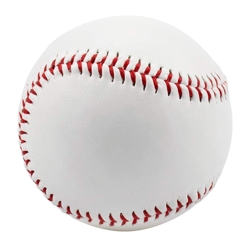 Standard size baseball unmarked and leather covered baseball with wholesale