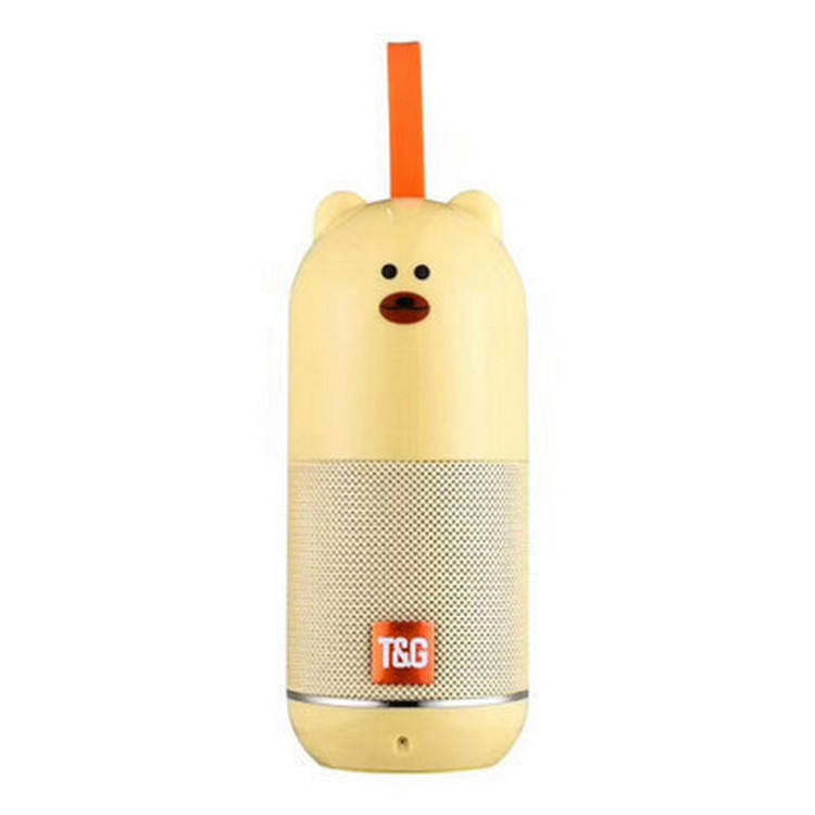 Cartoon Doll Speaker Duck Bear Pig Speaker TF FM Aus Function Portable Player wireless mini speakers