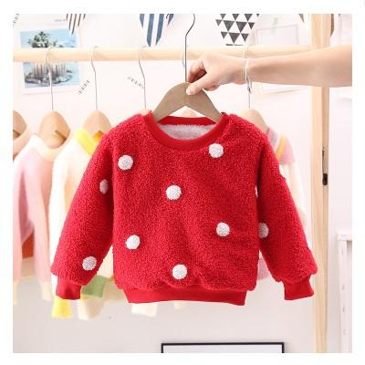 Boys christmas sherpa dot pullover for kids cheap pullover