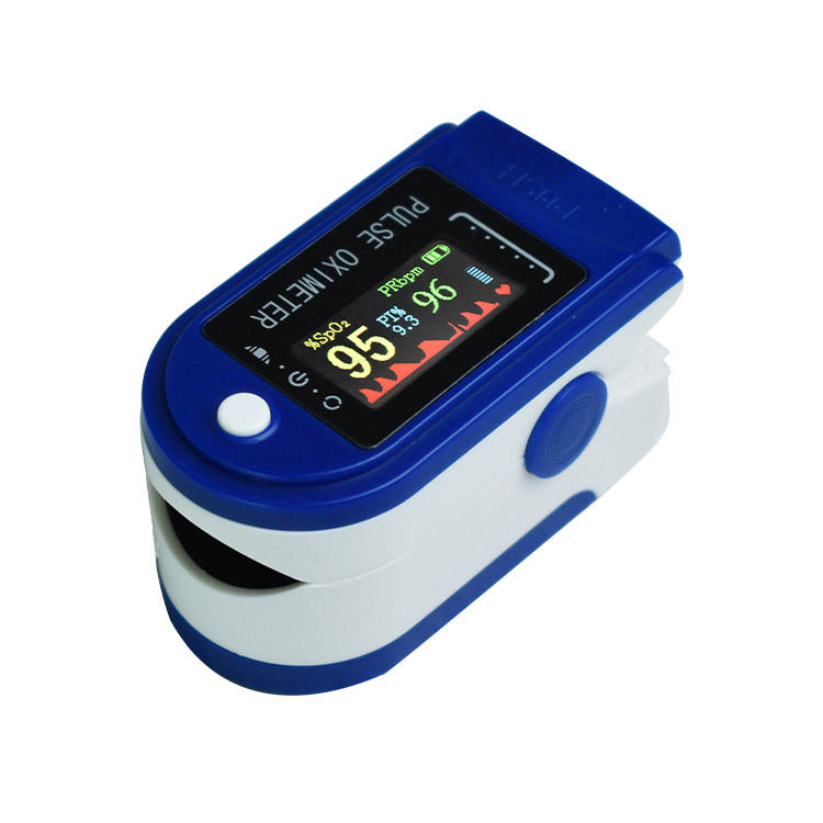 Pulsioximetro Fingertip Spo2 PR PI Measurement Equipment Pulse Oximetro Blood Oxygen Test Equipment with CE ISO Certified