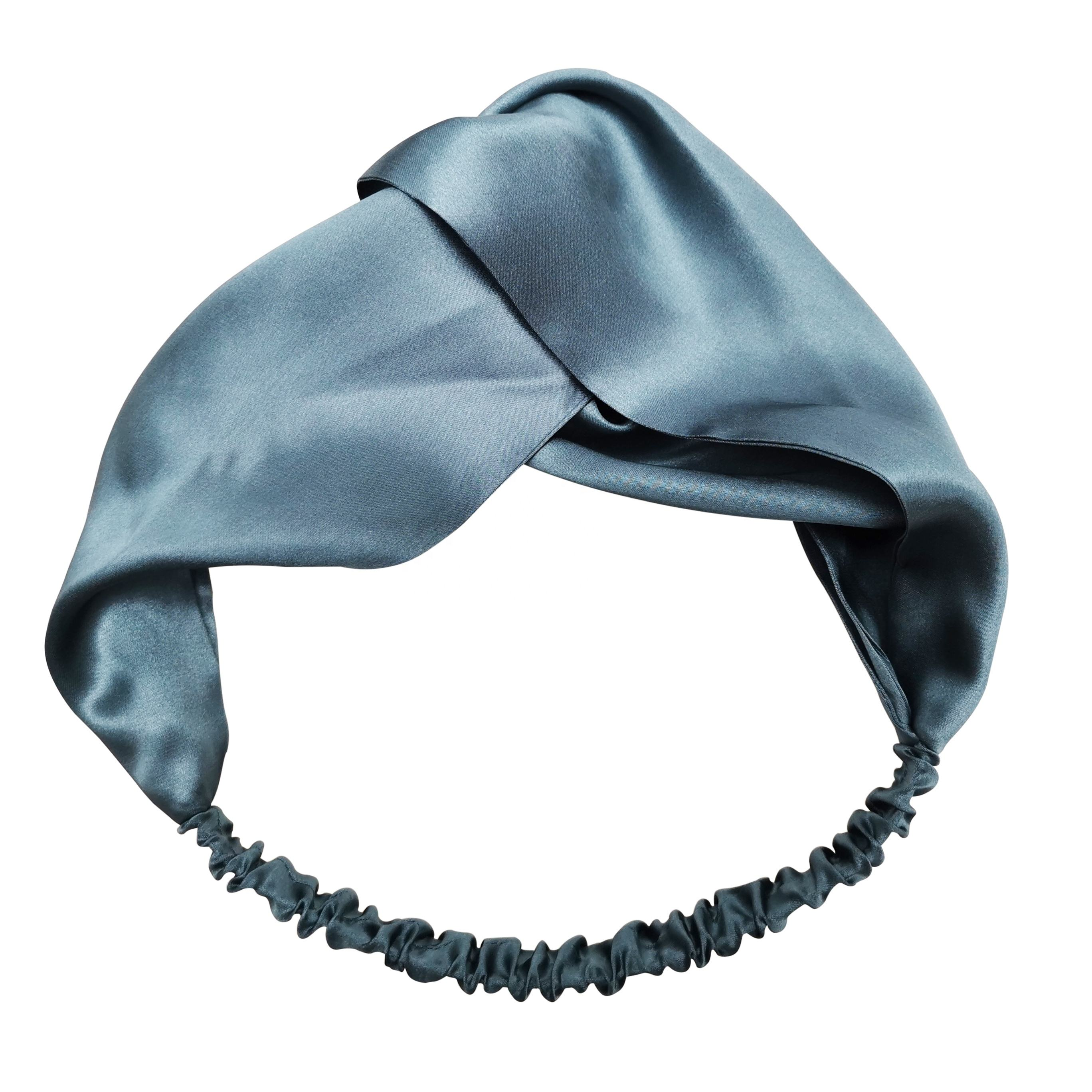 100% 6A Grade Silk Headband 16momme/19momme