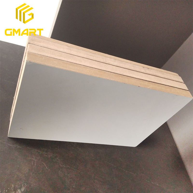 Gmart Factory Wholesale Smooth Surface Mdf Price For Sheet, Building Materials White Mdf Board Melamine