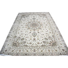 Hand knotted wool yarn handmade floor carpets and rugs  for living room dining room