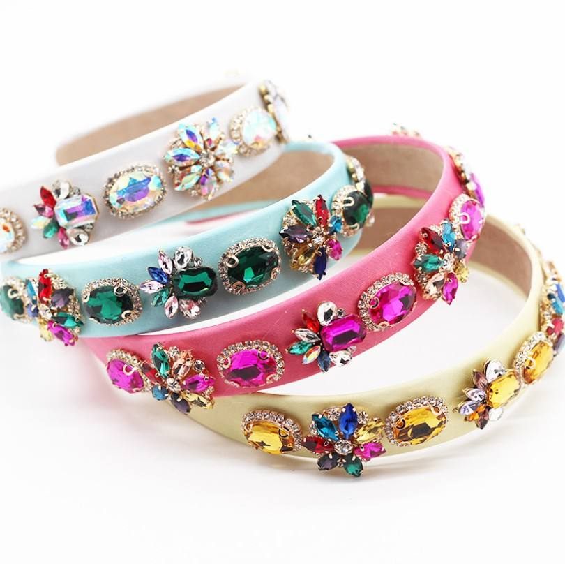 Butterfly Style Alloy Diamond Dish Hair band Accessories Large Crystal Spring Clip