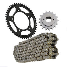 Motorcycle spare parts 525 chain and sprocket set for Honda VT750 VLX750