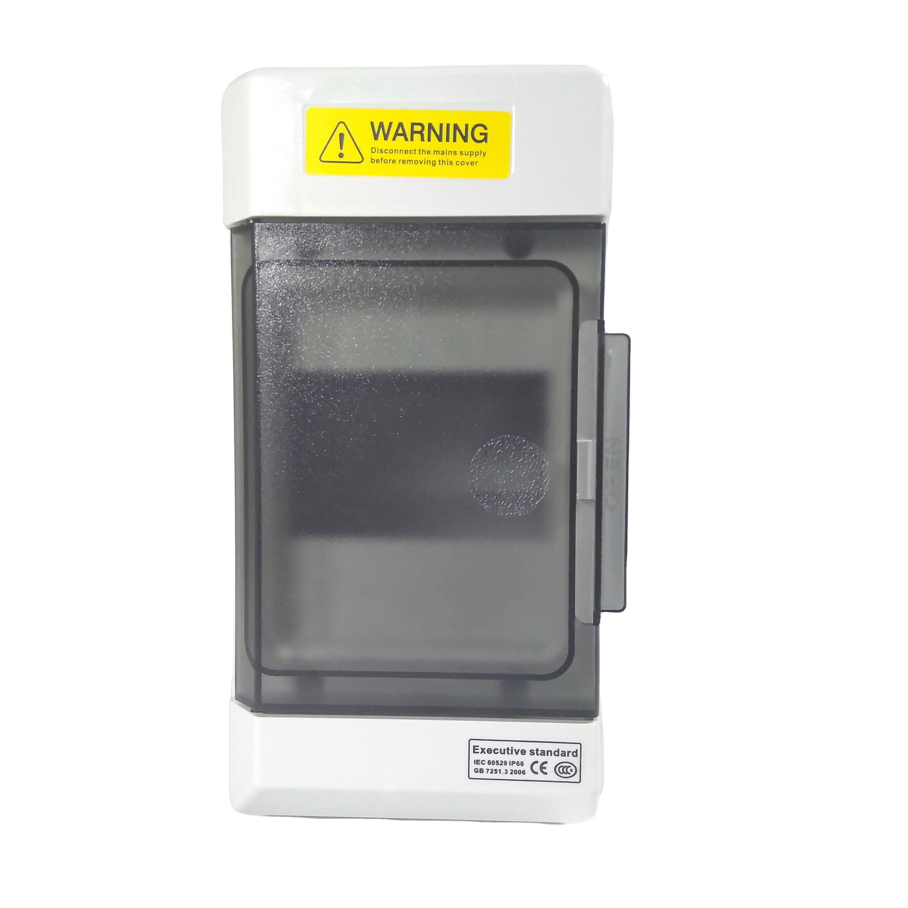 JOHNN ABS Plastic MCB Electrical Distribution Box IP65 Power Distribution Equipment