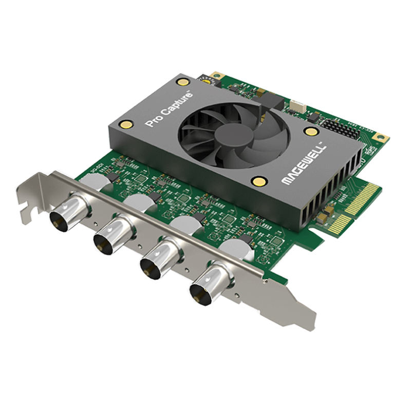 2019 simultaneously capture quad SD/HD/3G SDI Video Capture Card PCI Express 1080p 60fps video capture card 4ch