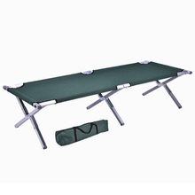 Wholesale metal lightweight folding camp bed aluminum frame military portable foldable outdoor army beds cot