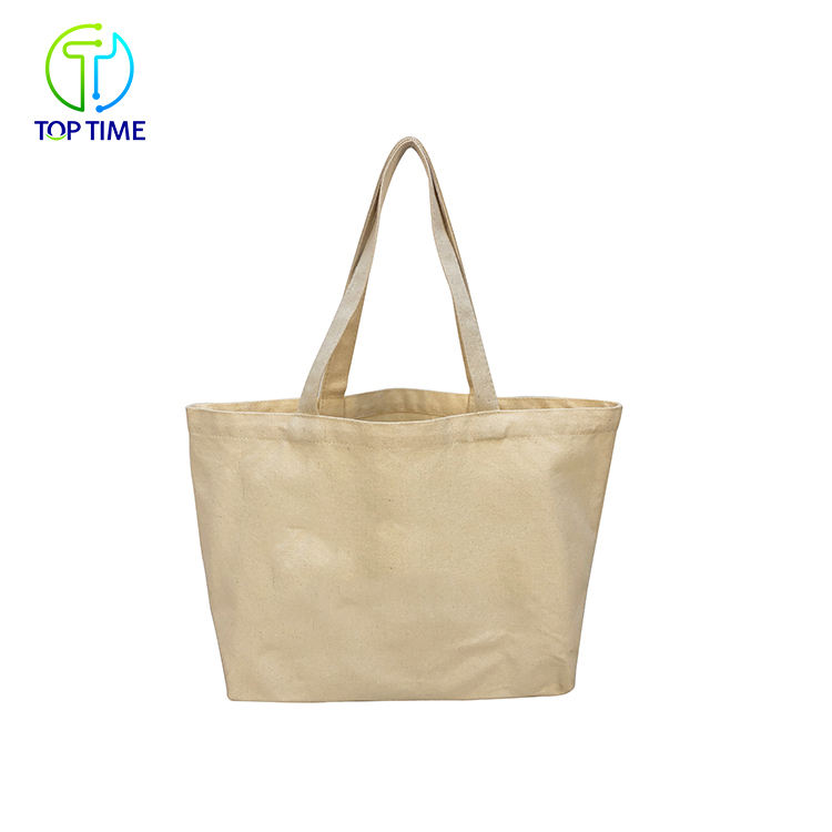 Competitive Price Durable Foldable Cotton Eco-Friendly Hand Bag