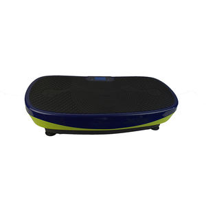 2019 new design colorful curved surface 3d ultrathin vibration plate crazy fit massage