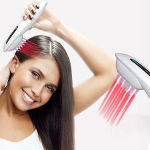 Class II 650nm Home Use Best Electric Comb For Hair Growth Red Light Therapy Laser Hair Growth Comb