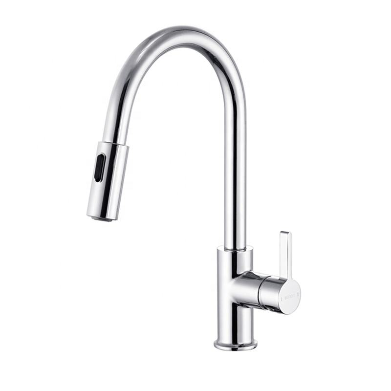 Modern wholesale price single handle hot cold water saving brass wash basin faucet