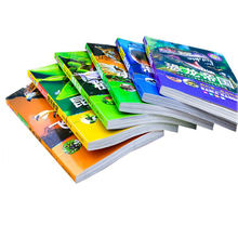 High quality soft cover print a book self publishing books printing services