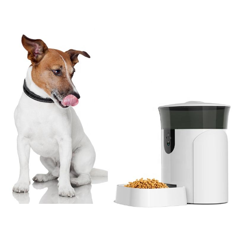Factory OEM 6L Pet Feeder Tuya Automatic Water Dogs Cats Food Smart Wireless WiFi Pet Camera feeder