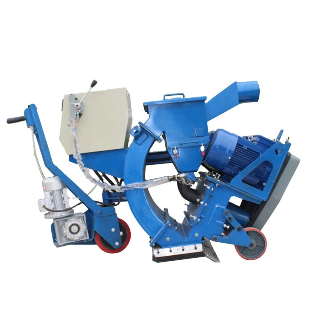 CE approved factory price road shot blasting machine for concrete and steel tube