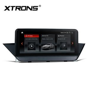 XTRONS touch screen 4K IPS 4 + 64 4G WiFi android 10.0 GB dvd player do carro para BMW x1 E84 2009-2015